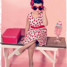 Robe vintage enfant