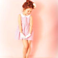 Robe enfant vintage