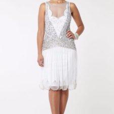 Robe Gatsby blanche