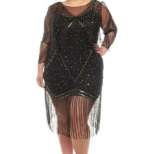 Robe Gatsby noire Betty